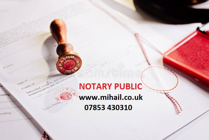 Notary Public Greenford
